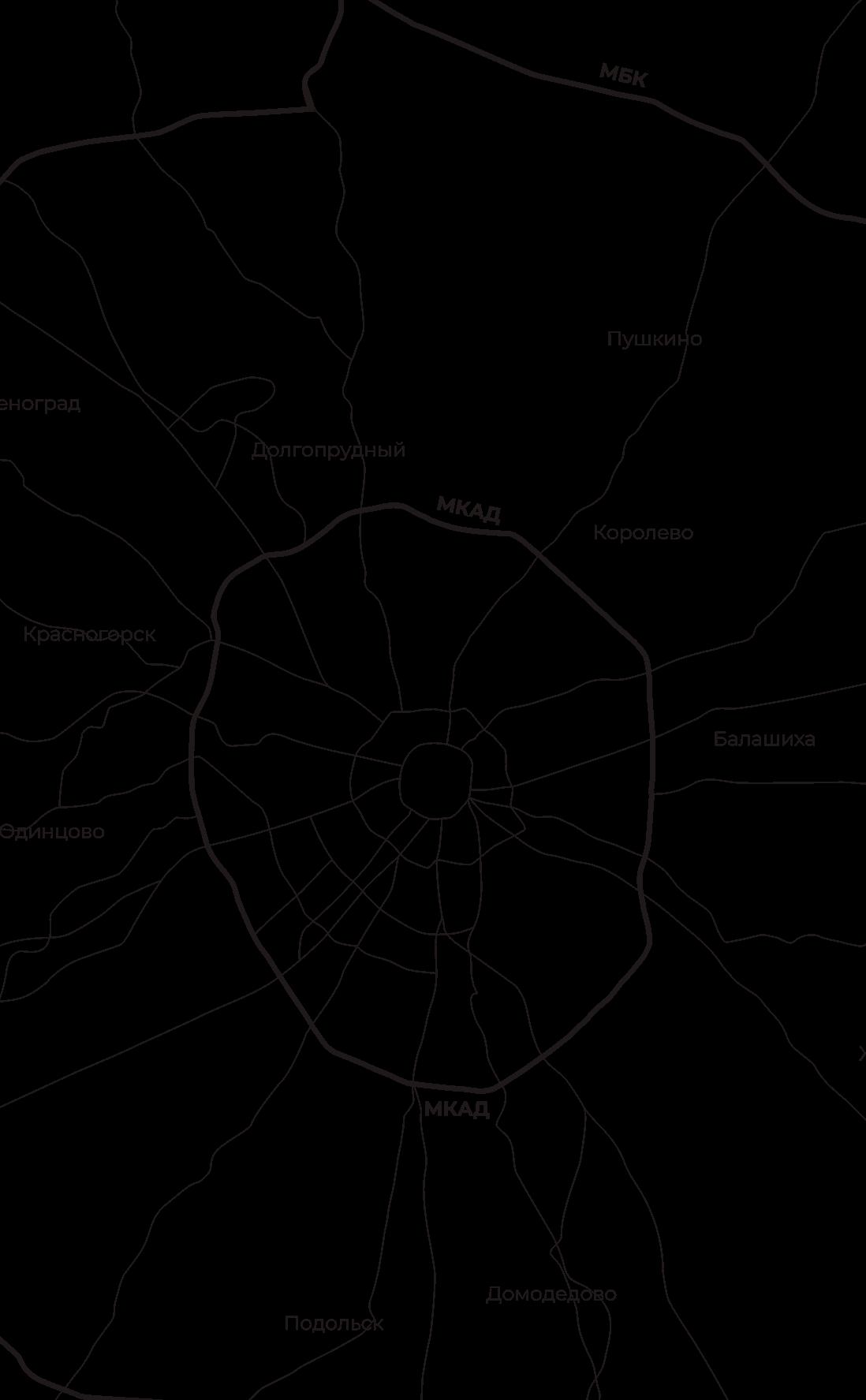 Карта пансионатов