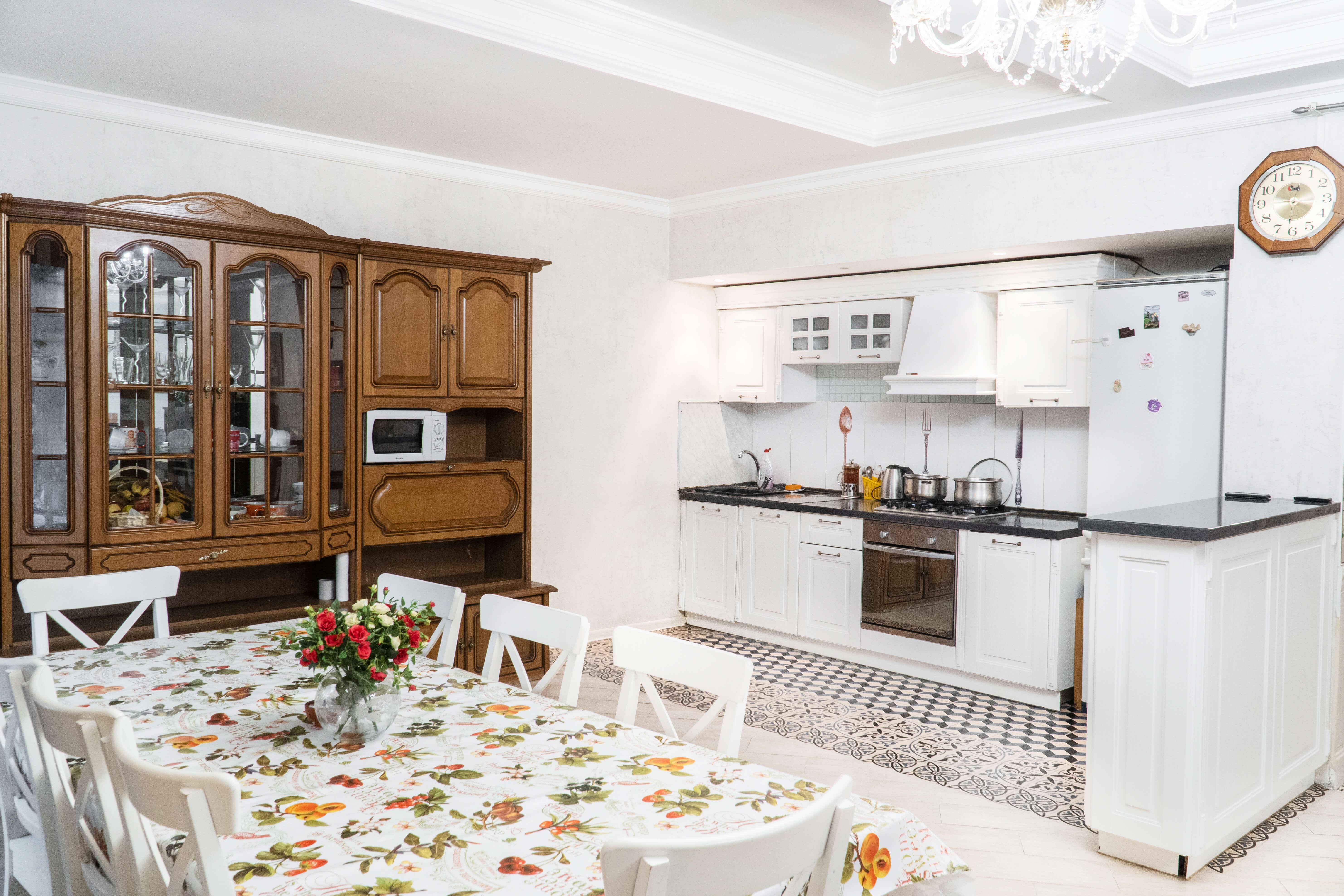 Кухня. Пансионат для пожилых людей Пыхчево