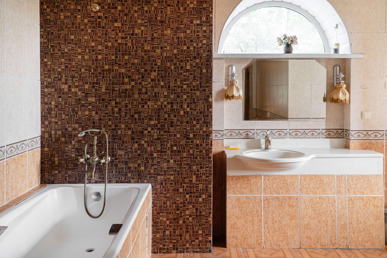Ванная комната в доме престарелых Пыхчево, Троицк