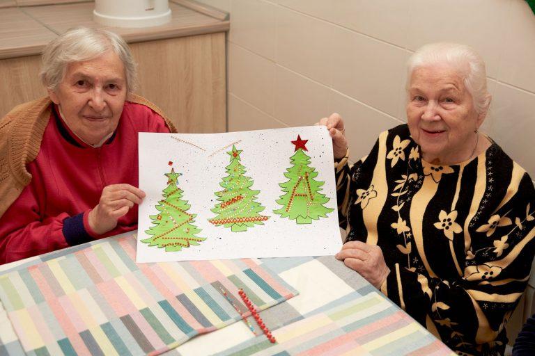 Досуг в пансионате для пожилых людей