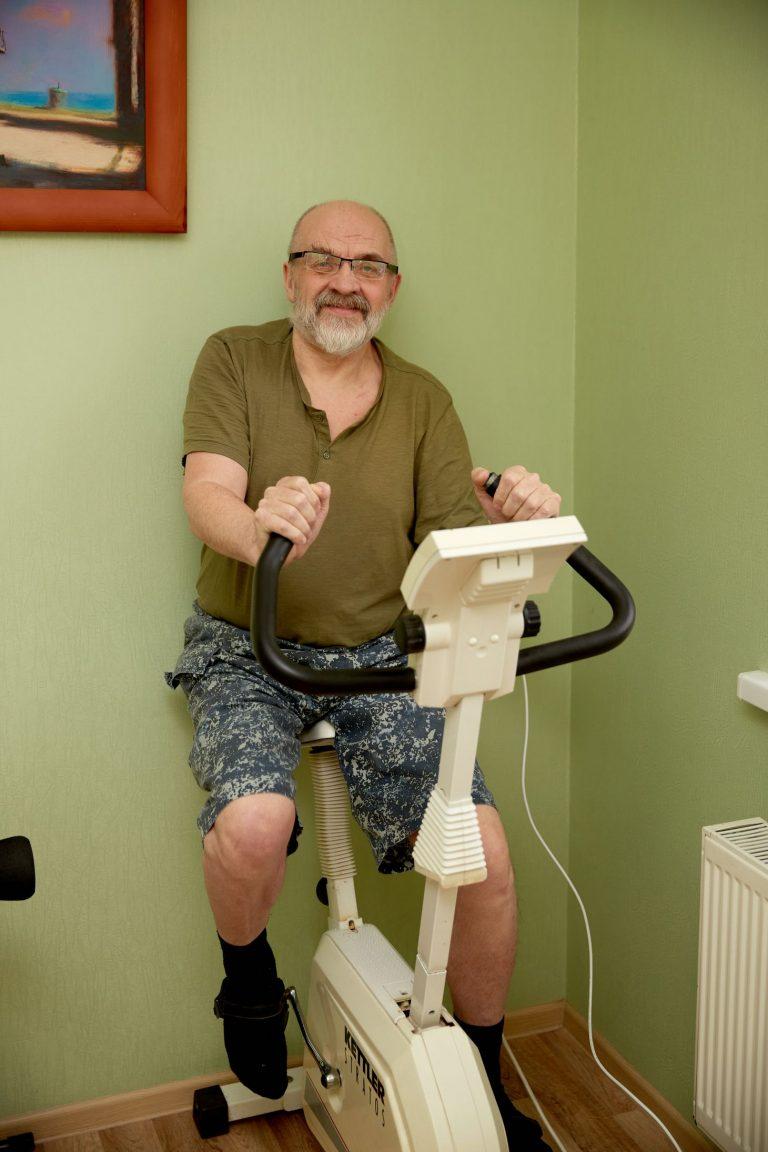 спортивные тренажеры для пожилых