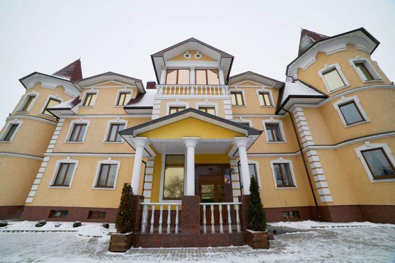 Пансионат Красногорский - фасад 3