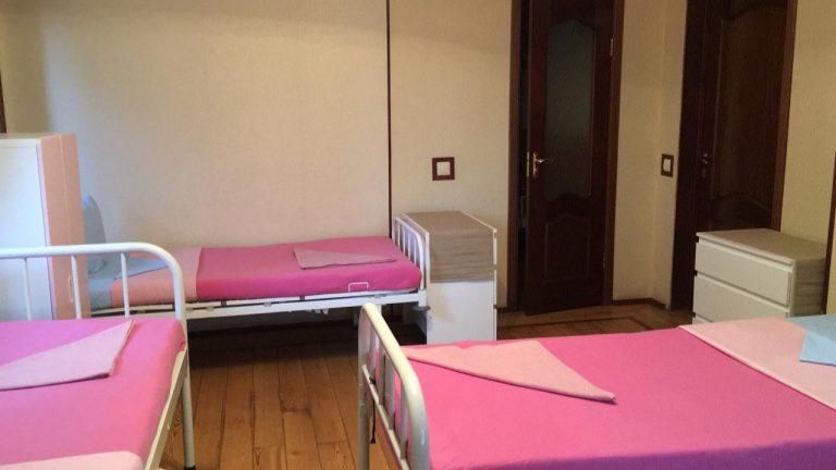 Интерьер пансионата для пожилых в Химках