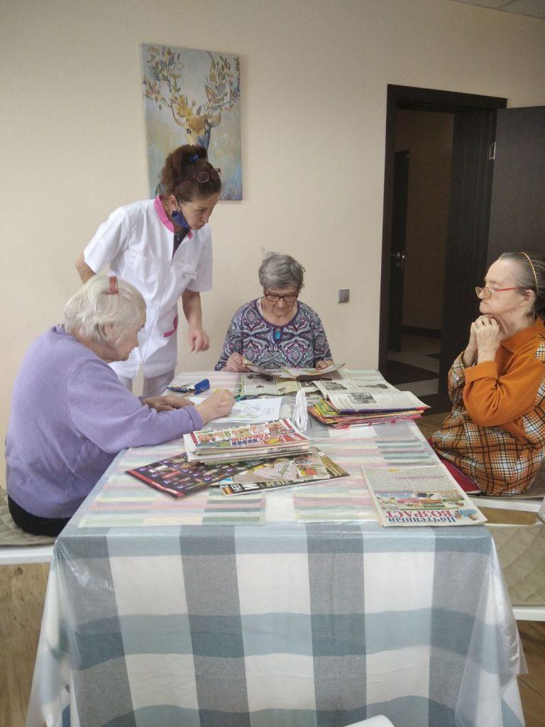 Досуг в доме престарелых в Красногорске