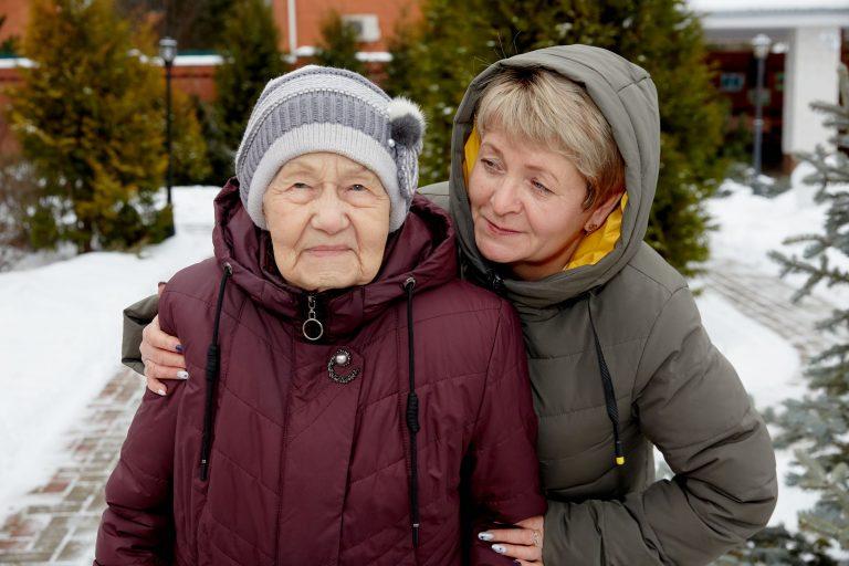 Прогулки полезны пожилым людям
